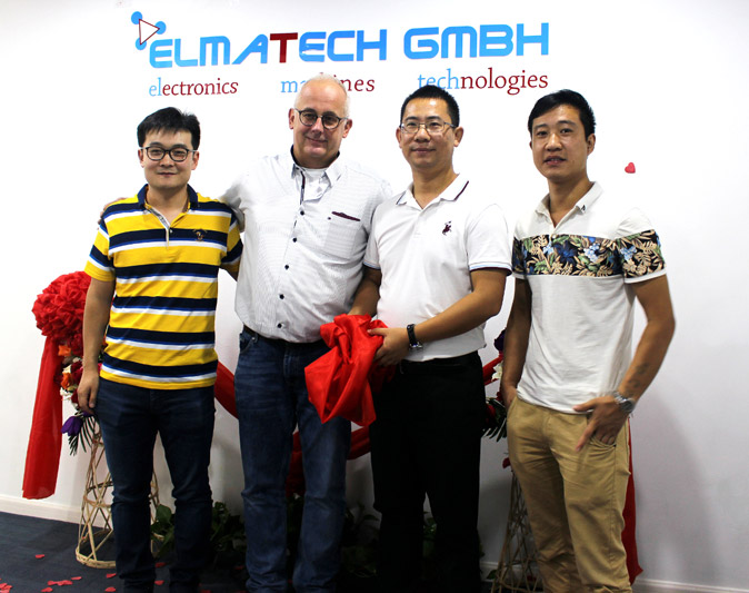 opening showroom elma tech china partner 1